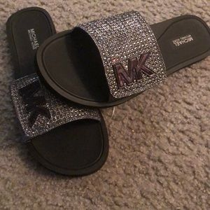 Michael Kors Shoes - MK SLIDES